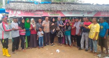 Fakhrizal Jalin Sillahturahmi Tanpa Batas Bersama Pedagang