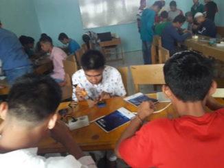Kolaborasi SKB-LPKA Tanjung Pati Bekali Warga Binaan Teknis Handphone