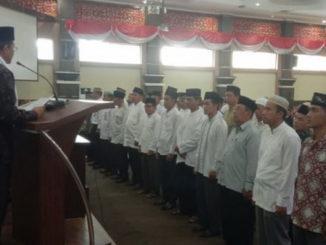 Pelantikan pengurus MUI dan DMI Kecamatan se Kab. Solok.