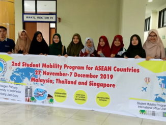 Peserta 2nd Student Mobility Program for ASEAN Countries 2019.