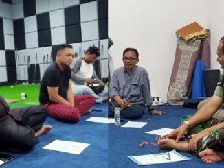 Rapat pengurus Bako IKK Padang.