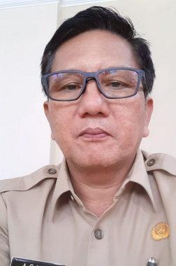 Sekretaris PUPR Kab. Mentawai,Asmen Simanjorang.