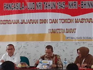 Sosialisai Empat Pilar MPR Ri di Sawahlunto.