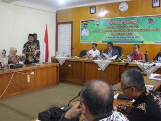 Sosialisasi Gerakan PBLHS Dan Sekolah Sehat di Kabupaten Solok