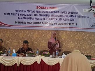 Sosialisasi Pemilu Kepala Daerah di Limapuluh Kota