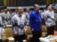 Wakil Gubernur Sumatera Barat H. Nasrul Abit acara peringatan hari Persatuan Guru-Guru Republik Indonesia (PGRI) ke 74 tahun 2019 Provinsi Sumbar di Kriyat Hotel