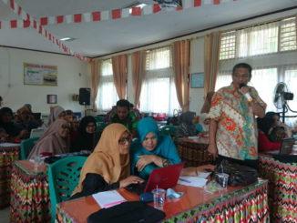 Workshop Modul Matemateka yang digelar FMIPA UNP.