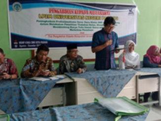 Workshop karya tulis yang digelar UNP.