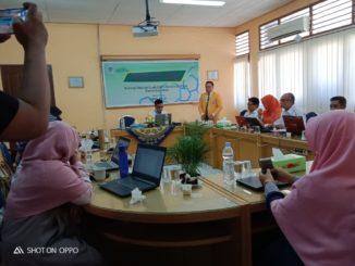 pelatihan teknis dan langkah kerja reviewer dan editor Bioeducation Journal untuk seluruh dosen Jurusan Biologi FMIPA UNP