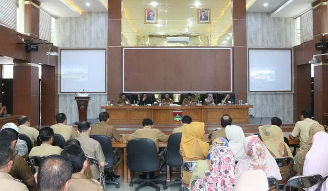 Forum diskusi membicarakan pembuatan Sianok - Maninjau Geopark.
