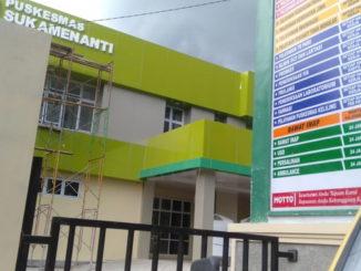 Gedung baru Puskesmas Suko Menanti Pasbar