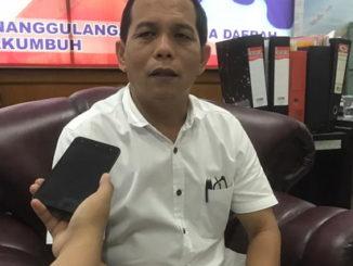 Kabid Kedaruratan dan logistik BPBD kota Payakumbuh, Atrimon