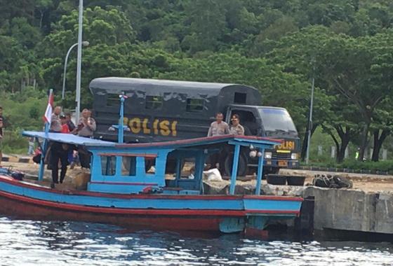 Kapal nelayan Pessel.