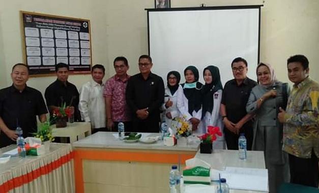 Kunjungan Komisi IV DPRD Kota Padang ke salah satu Puskermas di wilayah Kuranji.