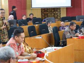 Lokakarya PLK antara LP3M dengan Kepala Dinas Pendidikan Kabupaten dan kota seluruh Sumbar di Ruang Sidang Senat Lt 4 Gedung Rektorat UNP.