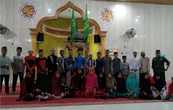 Panitia Pelaksana Festival Da'i Dai'ah Audisi se-Kabupaten Batubara.