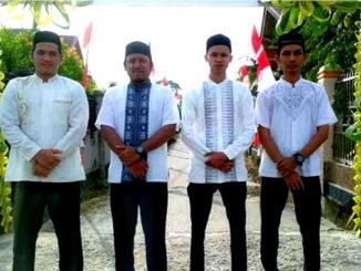 Para personal grup nasyid Al Huda. Istimewa)