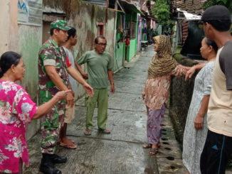 Pemetaan wilayah rawan bencana banjir di kelurahan Tipes Surakarta.