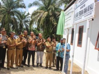 Peresmian kantor Walinagari Ranah Air Haji