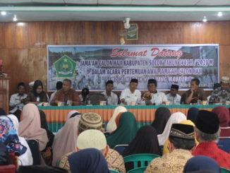 Pertemuan awal CJH Kab. Solok.
