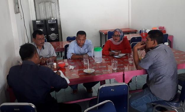 Rapat pembentukan panitia Mubes IKA Alumni SMA PGRI 2 Padang.