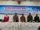 Sekdakab Pasaman Drs.Mara ondak (tengah) saat pembukaan diskusi tentang Strategi Percepatan Penurunan Stunting di Pasaman