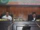 Sekdakab Solok Aswirman, SE, MM yang mewakili Bupati Solok dan Wakil Ketua DPRD Kab. Solok Lucky Effendi yang memimpin sidang paripurna.