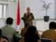Soasialisasi pendaftaran tanah di Padang Panjang.