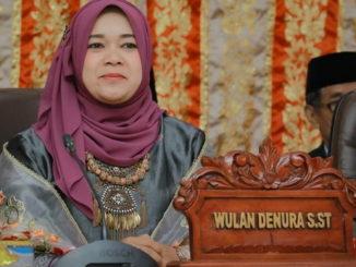 Wakil ketua DPRD Payakumbuh Wulan Denura
