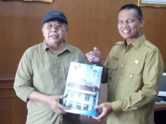 Walikota Pariaman menerima kunjungan Bupati Kabupaten Serdang Bedagai