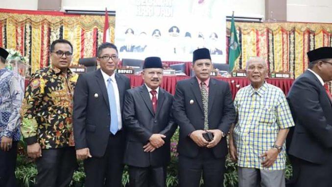 Wawako Reinier bersama Bupati Padang Pariaman.