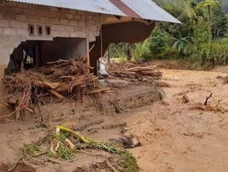 Banjir bandang dan longsor di Kenagarian Muaro Sei Lolo, Kecamatan Mapat Tunggul Selatan, Pasaman