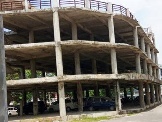 Bengkalai pembangunan gedung BPBD Sumbar.