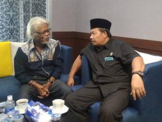 Dr. Adriwarman,, S.Sos, MSi saat diwawancarai Editor.