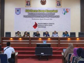 Focus Grup Discusion oleh Dinas Komunikasi dan Informatika bersama Badan Pusat Statistik di Aula Ngalau Indah.