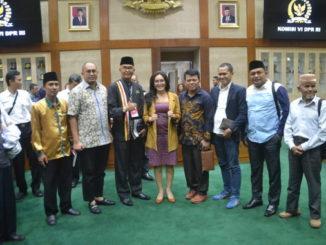 Foto bersama usai audiensi.