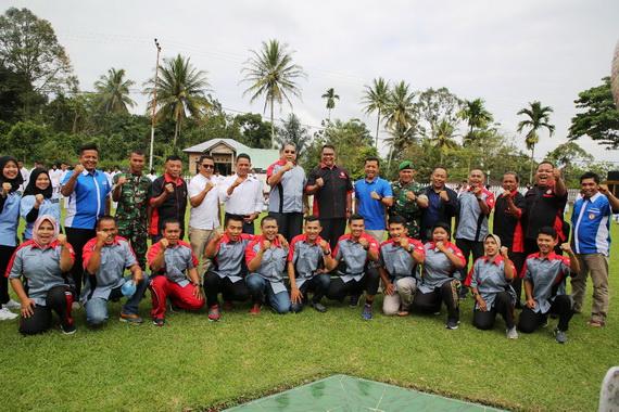 Foto bersama usai pelantikan Pengurus Lamkari Kab. Limapuluh Kota.