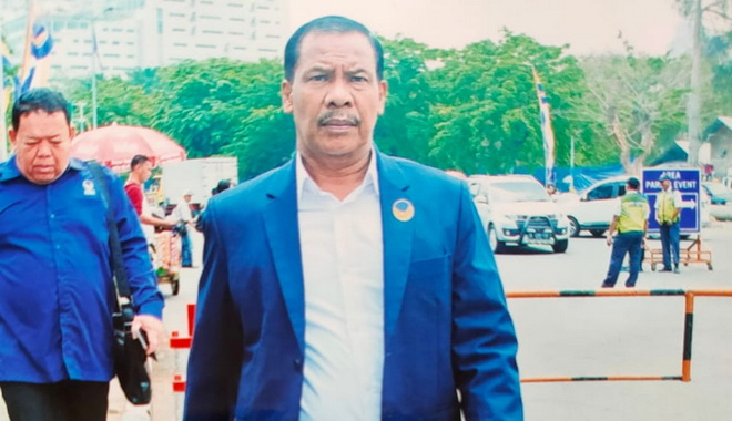 Ketua Dewan Pimpinan Daerah ( DPD) Partai Nasdem PesselH.Aprial Habas, SH. MH