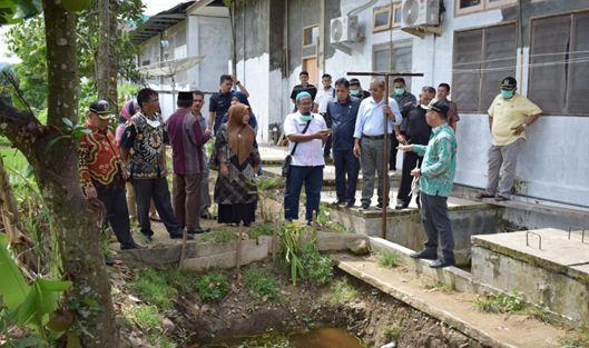 Kunjungan Komisi III ke RSU BKM Sago.