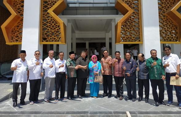 Kunjungan Komisi IV DPRD Sumbar ke Padang Pariaman.