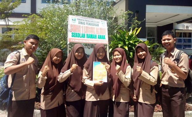Murid SMAN 1 Lubuk Alung siap ke Eduweek Padang Panjang
