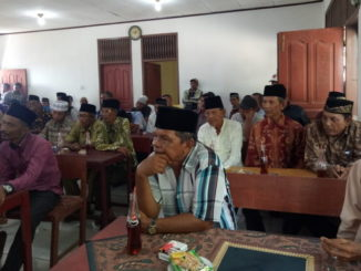Pertemuan pengurus KAN dan tokoh masyarakat Tiku V Jorong.