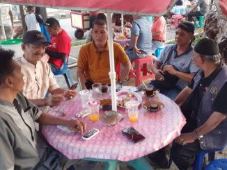 Rapat pembentukan Lembaga Seni Budaya di Sawahlunto.