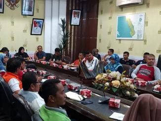 Rapat persiapan Festival Langkisau 2020.