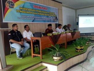 Sosialisasi masalah tanah di Baringin, Tanah Datar.