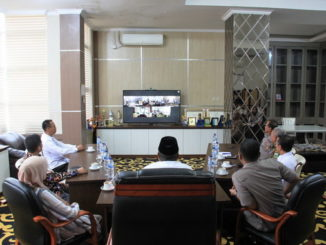 Video Conference di Kab. Solok.