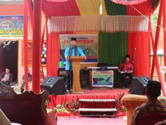 Wagub Nasrul Abit saat memberi sabutan.