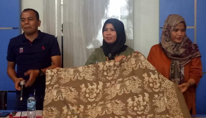 Batik Sampan Kota Pariaman.