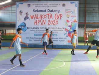 Turnamen futsal Wali Kota Cup HPSN 2020.