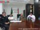 Ali Mukhni mengikuti dialog dengan video conference bersama Media terkait penanganan covid-19.